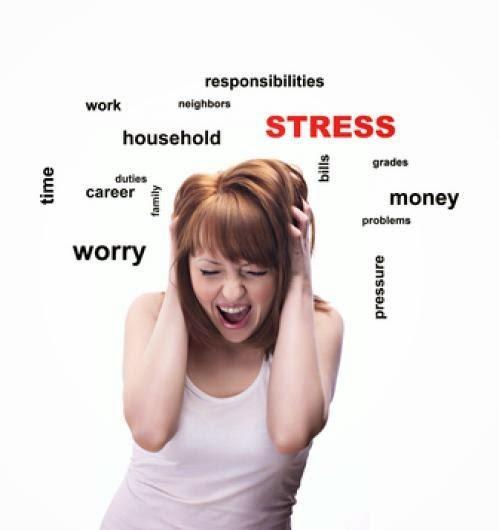 أسباب التوتر والقلق