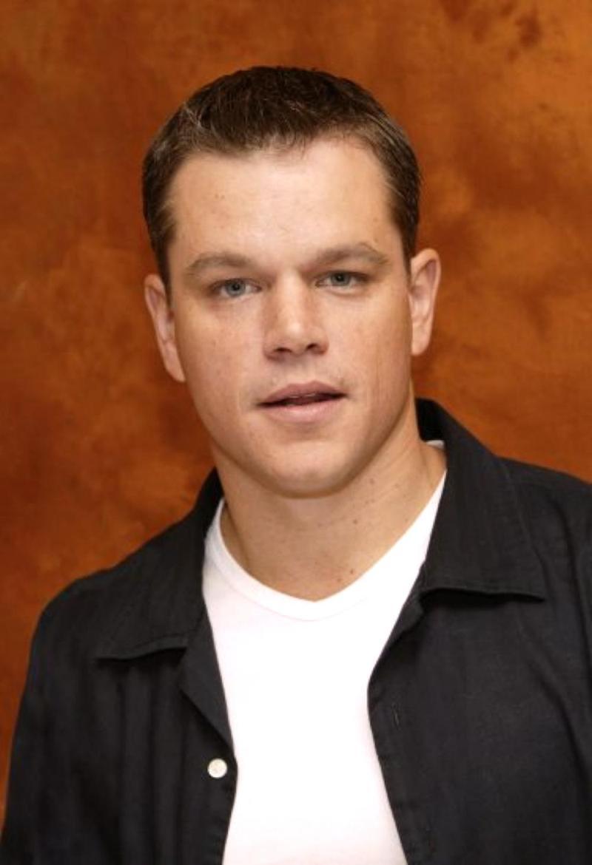 I Was Here.: Matt Damon