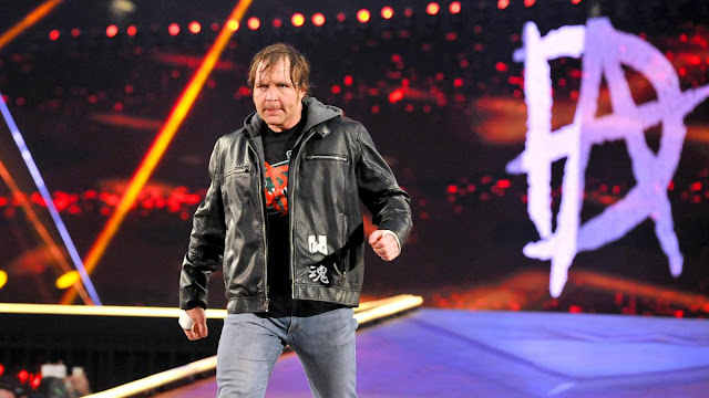 WWE Best Wrestler Dean Ambrose HD Wallpaper