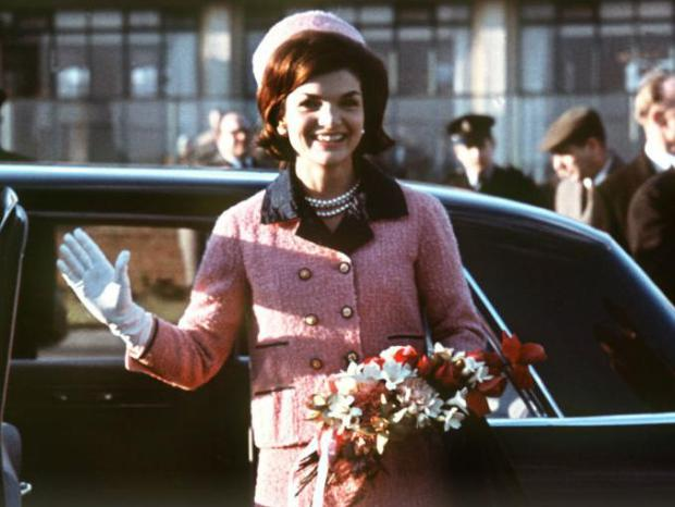 jackie kennedy 1960s style icon pink suit