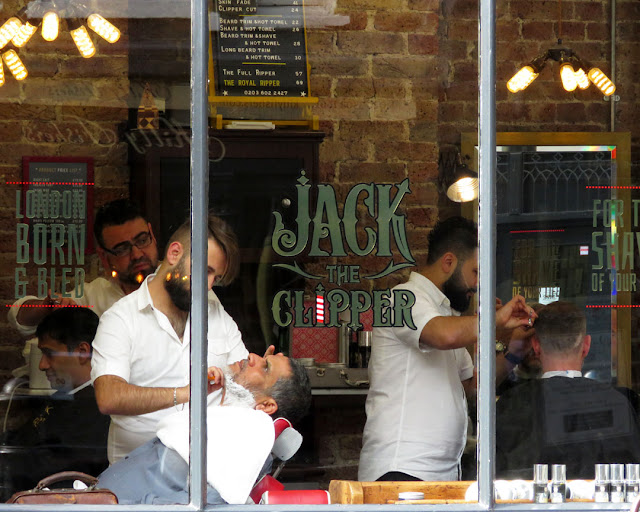 Jack the Clipper, Shepherd Market, Mayfair, London