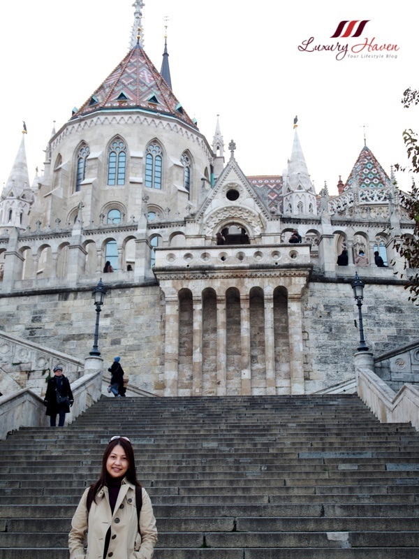 travel blogger explores budapest matthias church