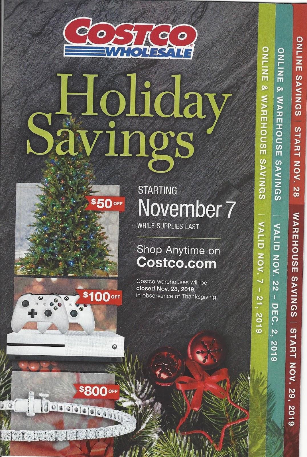 Costco Holiday Savings 2019