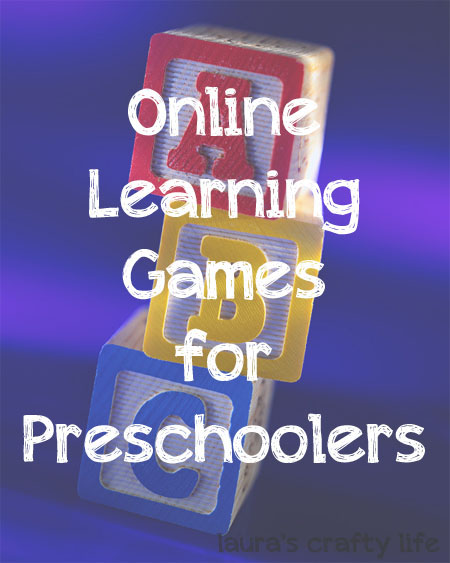 Online Learning Games for Preschoolers