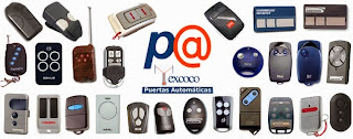 Controles remoto para puertas de garage de todas las marcas en México.
