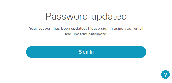 Password Update