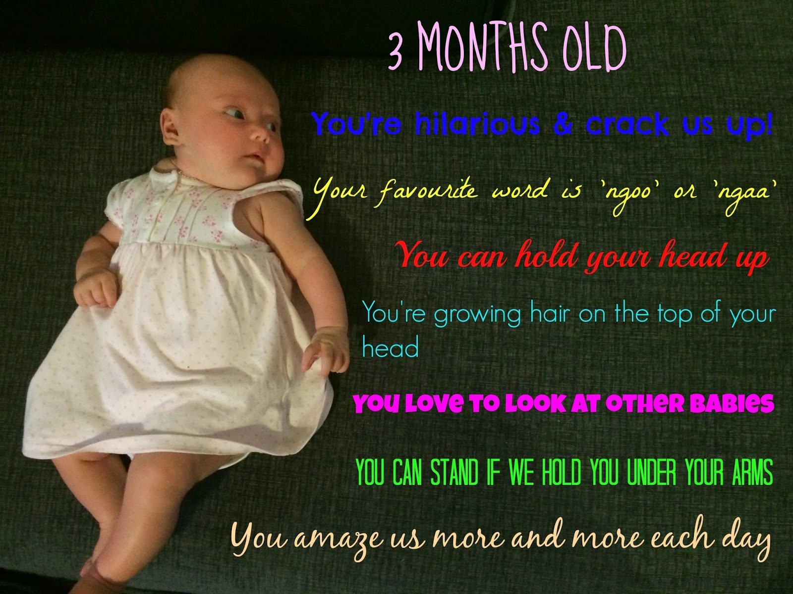 3507f8e87 3 Months (12 weeks) Old – Baby Update