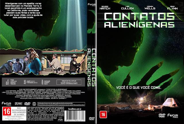 Capa DVD Contatos Alienígenas