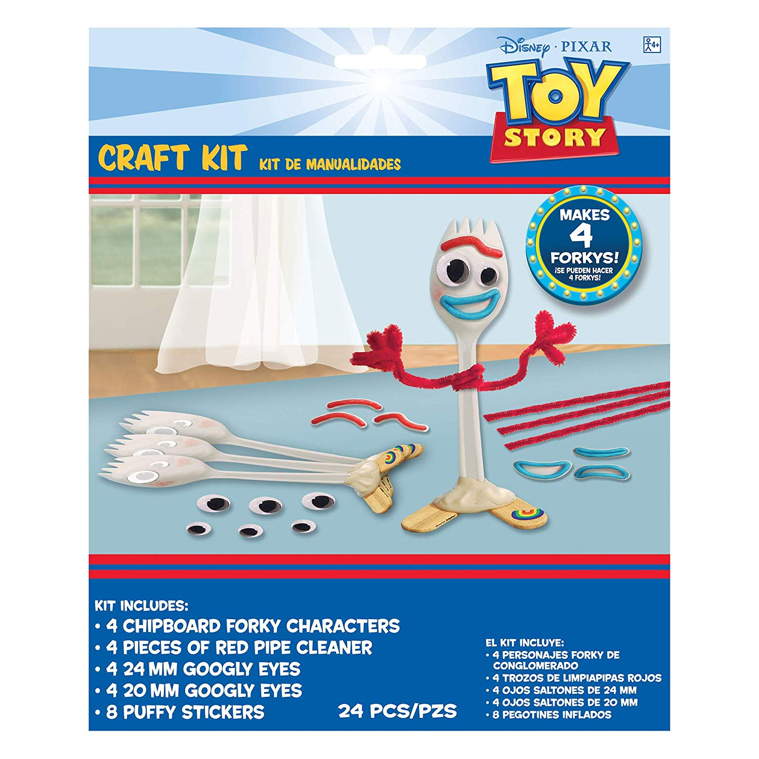make your own forky craft kit
