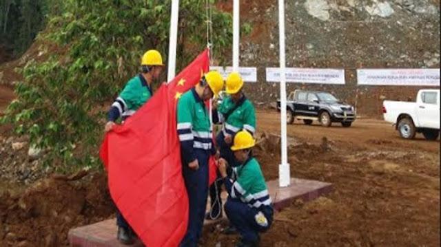 Insiden Berkibarnya Bendera Tiongkok Di Daerah Ini Menjadi Viral Di Media Sosial