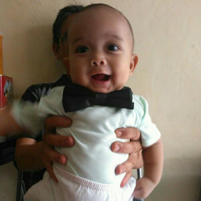 anak pertama ketika berumur 3 bulan
