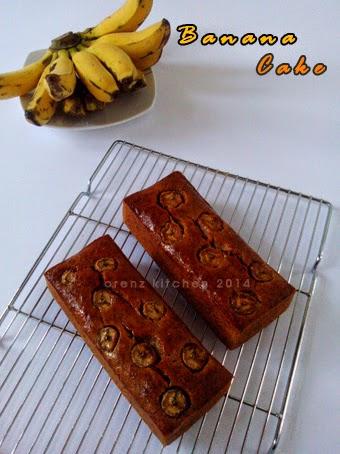 orenz cake pisang