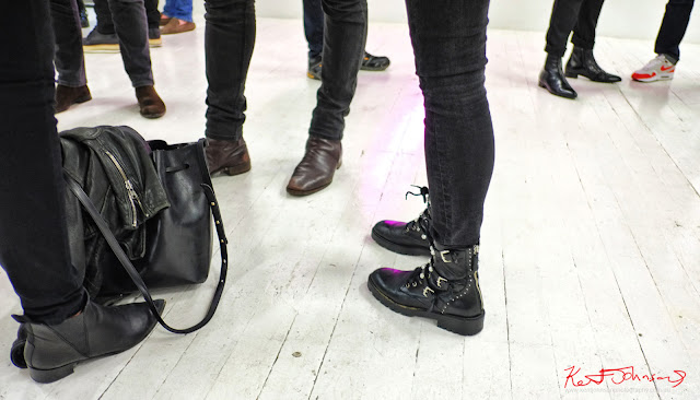 A variety of boots - Photography by Kent Johnson for Street Fashion Sydney.