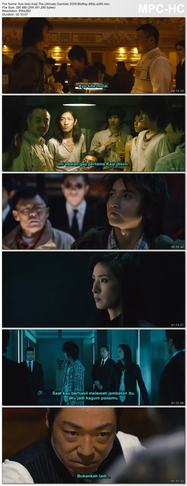 Screenshots Movie Sub.Indo.Kaiji: Jinsei Gyakuten gemu aka Kaiji: The Ultimate Gambler (2009).BluRay.480p.x265.mkv