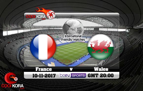 مشاهدة مباراة فرنسا وويلز اليوم 10-11-2017 مباراة ودية