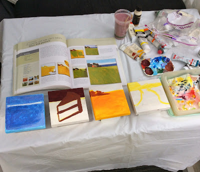 50 small paintings stefanie girard how to paint, paint tutorials