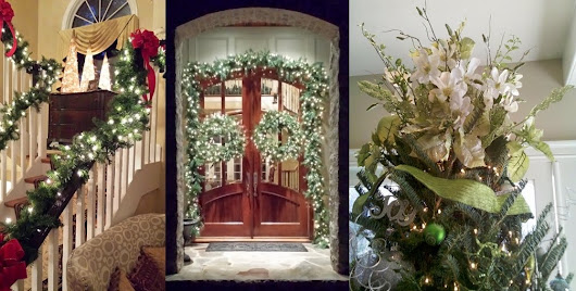 Charlotte NC Holiday Residential Decorating