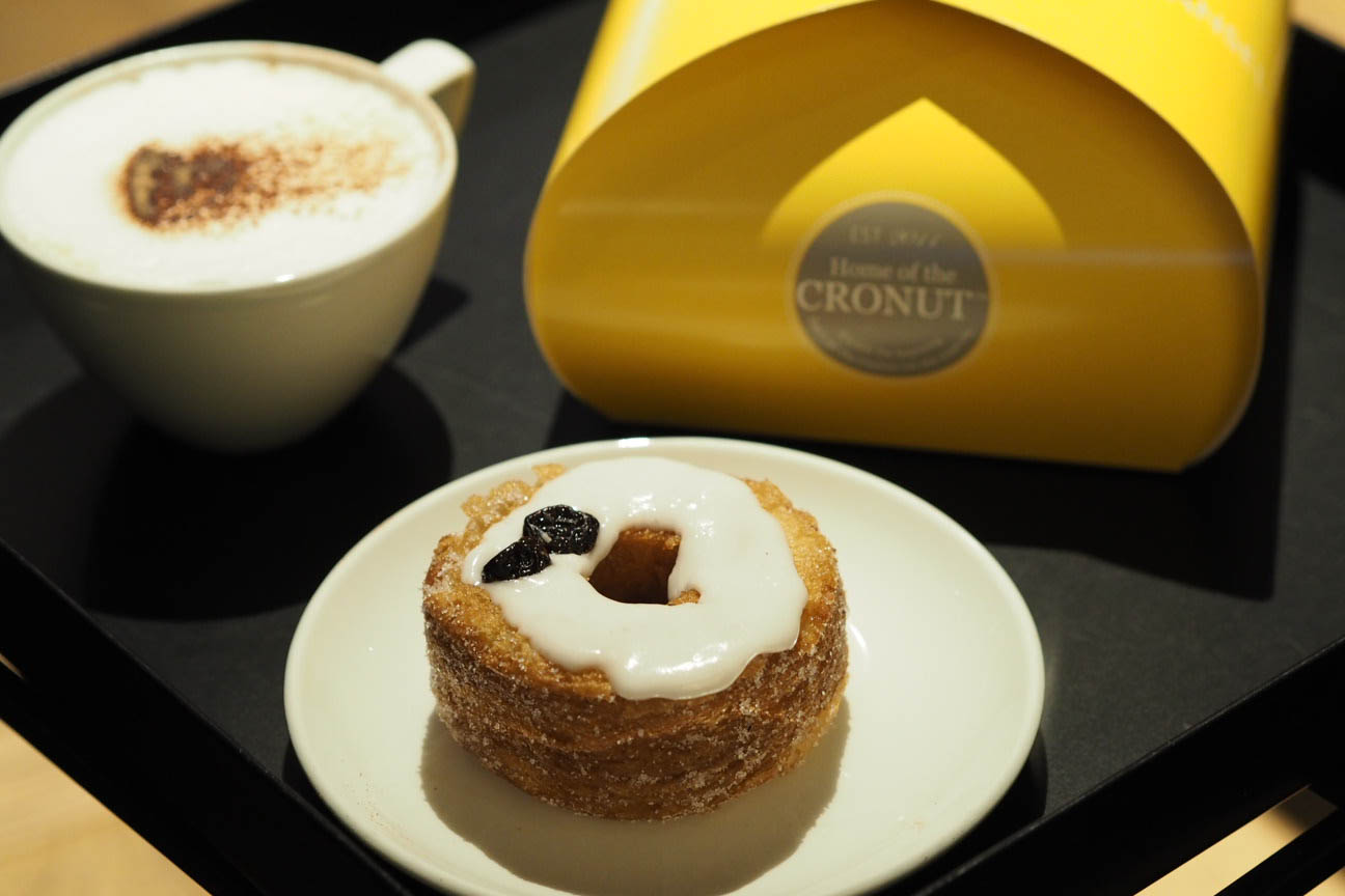 Cronut from Dominique Ansel London bakery
