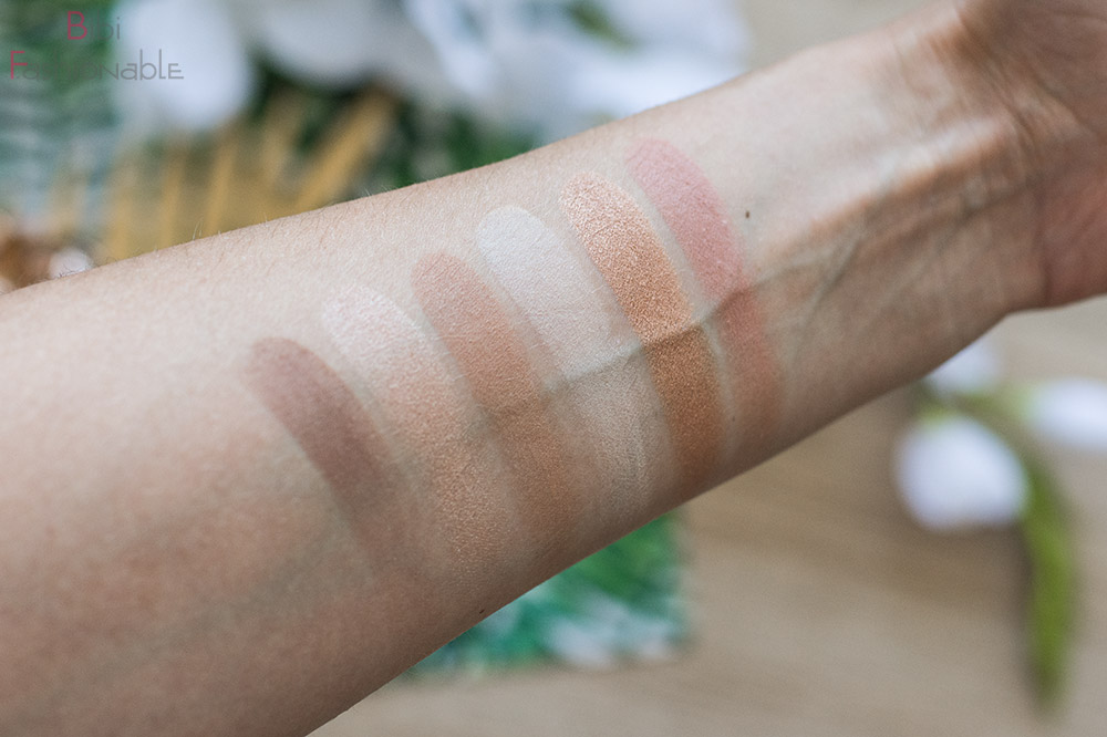 Smashbox The Cali Contour Palette Swatches