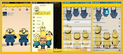 BBM Mod Lucu Tema Minions New Base V.2.12.0.9 Clone