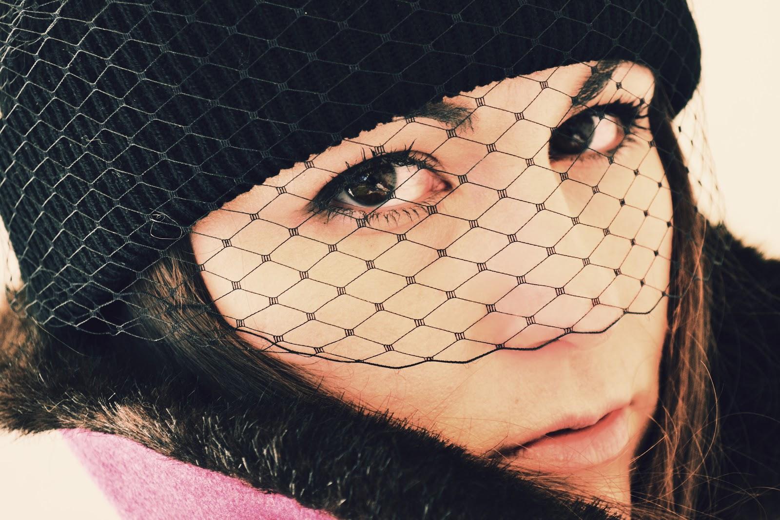 05f241d736c Dollhouse Vacancy  VEILED COMPANION diy jil sander veiled beanie