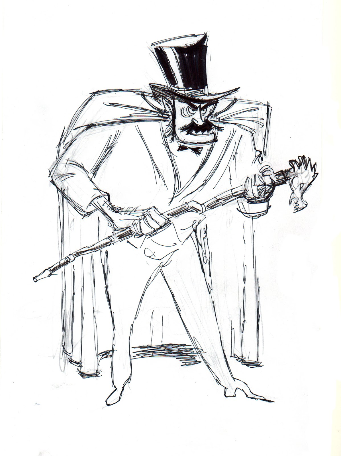 This is an image of Persnickety Dr Jekyll And Mr Hyde Drawing