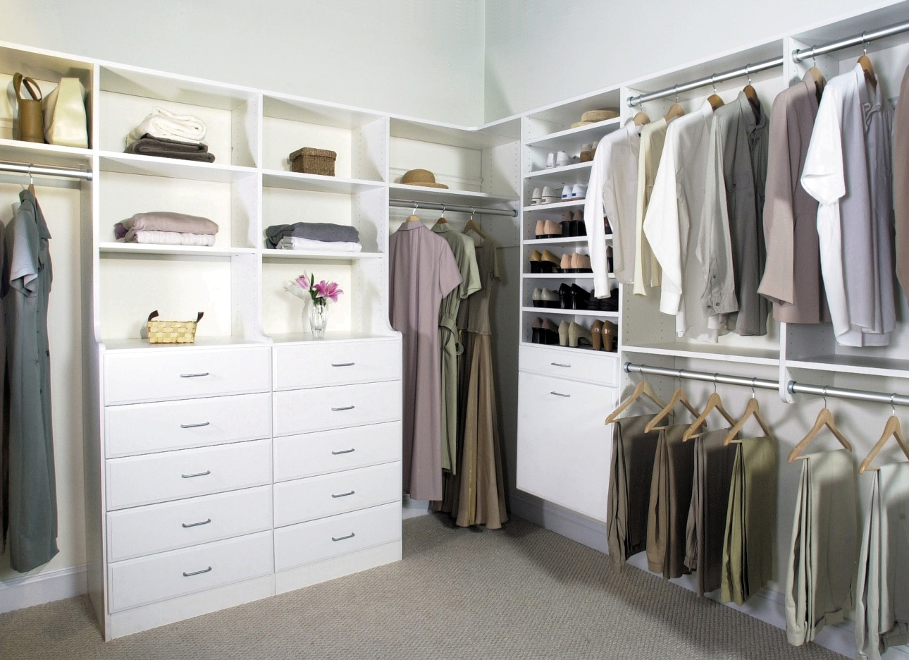 Closet decorating ideas pinterest. closet and no tub or a modestly ...