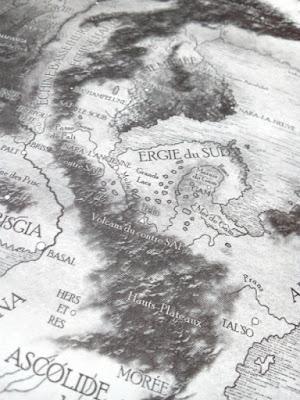 """Carte de Pangée - """"Nefs de Pangée"""" de Christian Chavassieux"""
