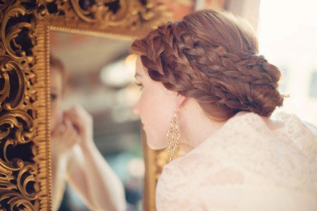 peinados de novias cabello corto
