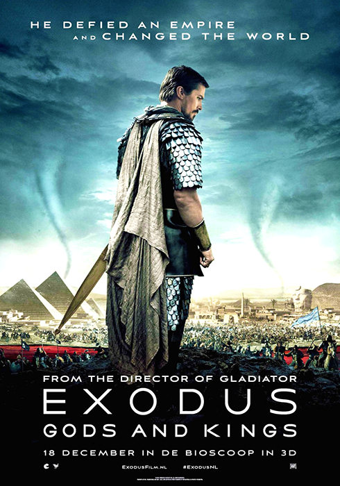 Poster pentru producţia biblică Exodus: Gods And Kings
