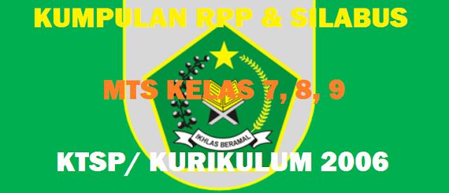 Silabus Aqidah Akhlak MTs KTSP Kelas 7, 8, 9