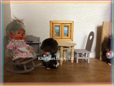 fête des grand-mères, monchhichi, kiki, kiki le vrai, ajena, sekiguchi, jouet vintage