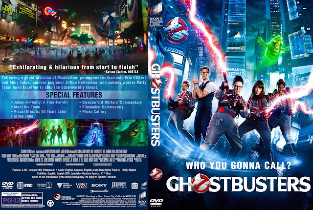 Ghostbusters DVD DVD Cover