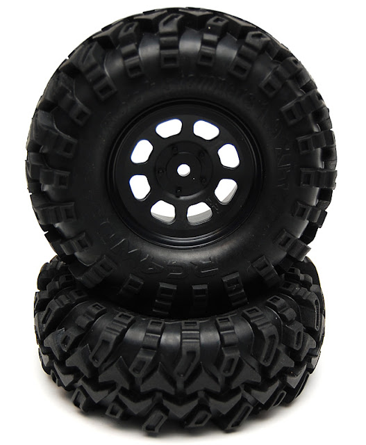 Axial AX10 X-Trail rc4wd rock stompers 1.9 tires