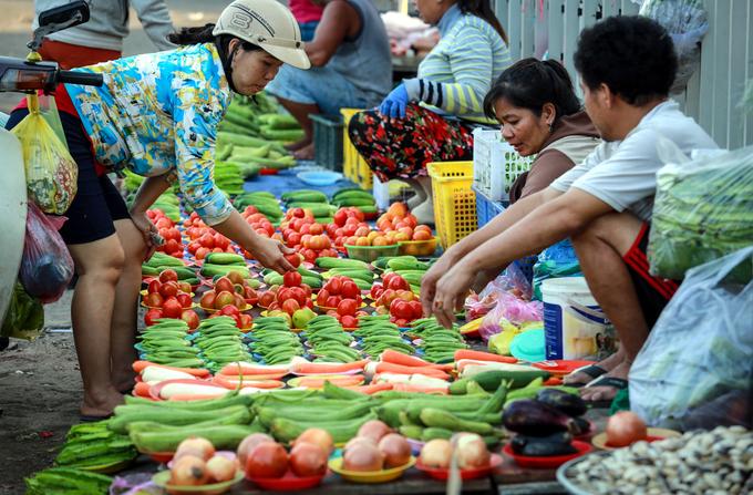 Chợ 5 ngàn giá siêu bèo và chuẩn ở Bình Tân - TPHCM
