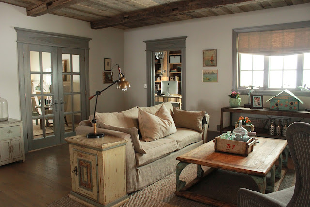 Beautiful rustic elegant Nordic French farmhouse style home in Utah