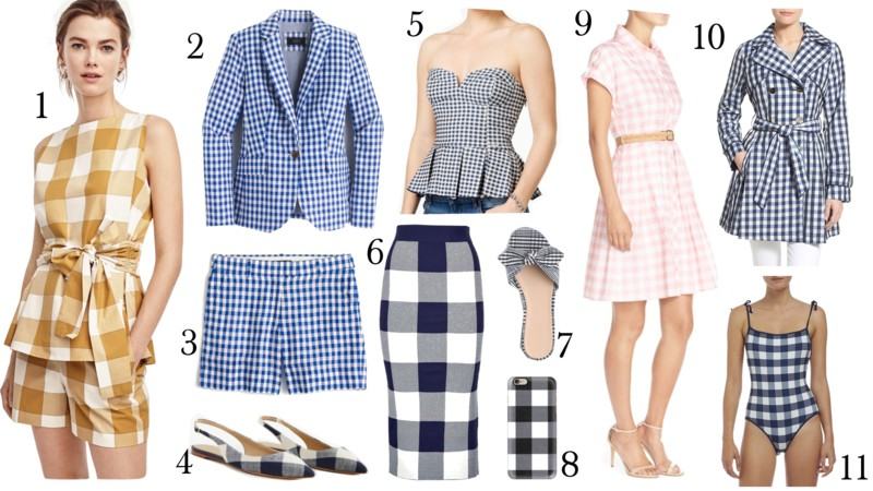 gingham trend, www.jadore-fashion.com