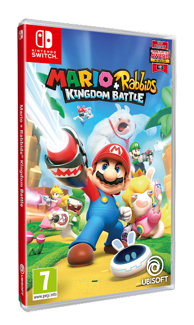 Mira el tráiler de lanzamiento de Mario + Rabbids Kingdom Battle, ¡ya disponible!