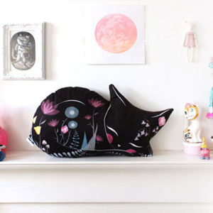 Shop Miss Ella - Cat Cushion plushie on Etsy