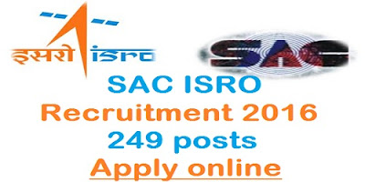SAC Recruitment 2016