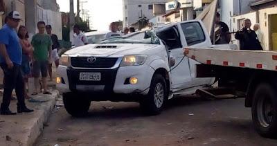 Paraíso do Tocantins acidente deixa quatro pessoas feridas