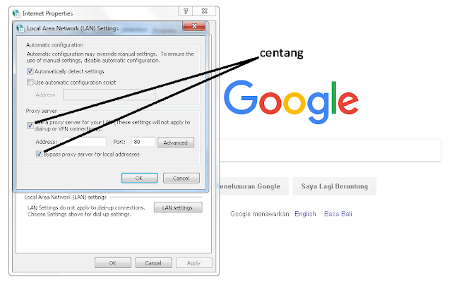 Cara Mengganti Proxy di Browser Google Chrome