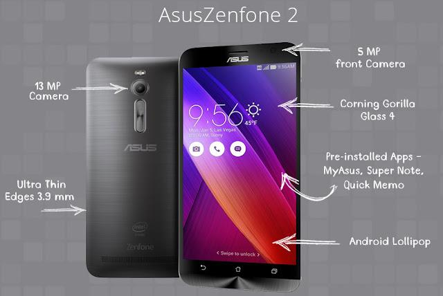 Zenfone 2 Laser 6.0 Octa Core 64-bit Snapdragon