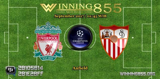Prediksi Skor Liverpool vs Sevilla