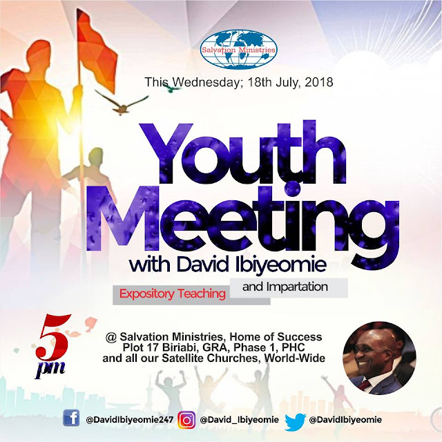 Plan to attend Youth Meeting with David Ibiyeomie