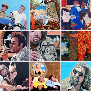 Paintings by Tom Roderick Boulder portrait artist