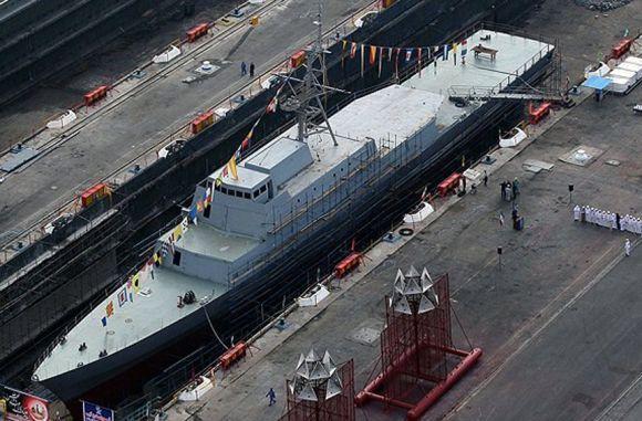 Kapal frigat Iran Jamaran