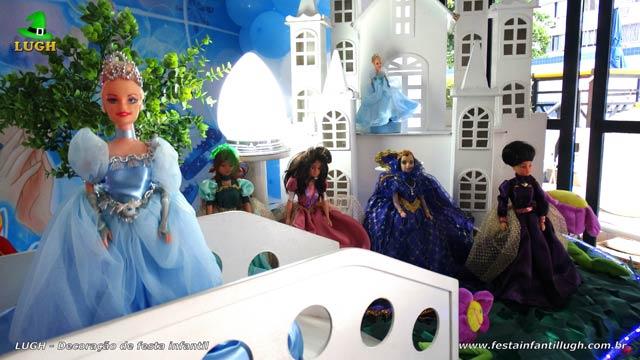 Mesa temática luxo Cinderela