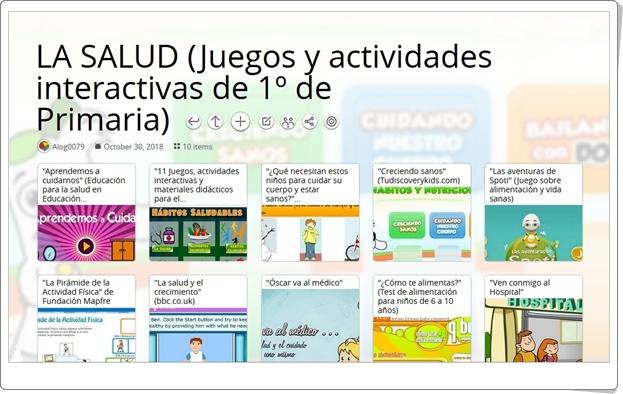 """""""10 Juegos y actividades interactivas sobre LA SALUD en 1º de Primaria"""""""