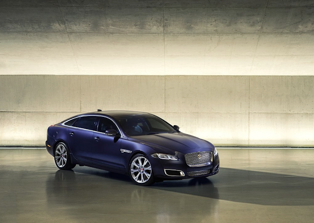 2016 Jaguar XJ blue